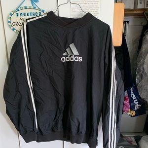 Adidas pullover windbreaker